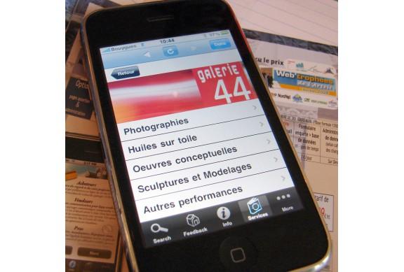 Menu I-Phone