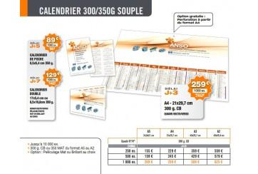Calendrier 300/350g Souple