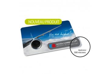 Cartes PVC 0.5mm