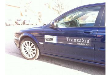 Kit Magnets de Voiture TransaXia Personnalisé