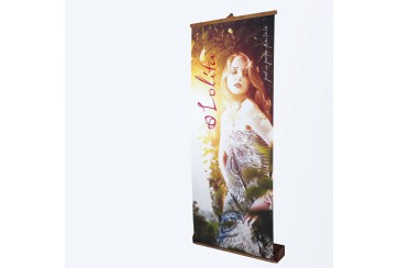 Stand Roll-up bambou
