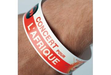 500 bracelets de contrôle - numérotation offerte