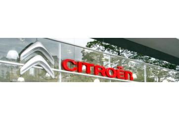 Adhésif déménagement, vitrine Citroën 150x1000 cm