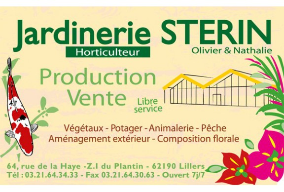 Cartes jardinerie sterin fxp concept group for Jardinerie online