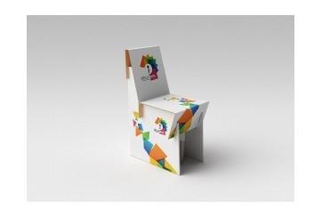 1 chaise carton
