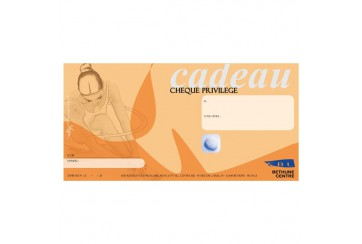 Chèque cadeau 10x20cm
