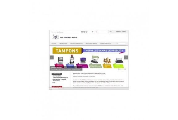 Site Web E-Commerce Administrable