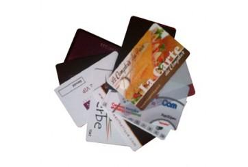 Cartes PVC 0.76mm